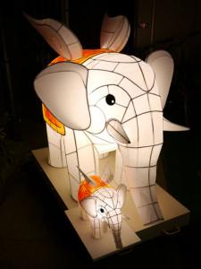 白象(和風立体造形)
