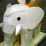 花まつり白象